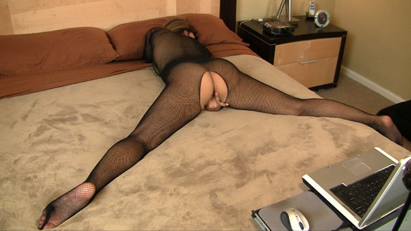 2011 03 31 Fishnet Bodystocking